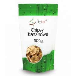 Chipsy BANANOWE 500g,...