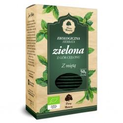 Herbata Zielona z Miętą EKO...