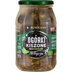 OGÓRKI KISZONE BIO 820 g...