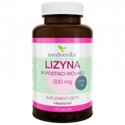 LIZYNA 500 mg L-lizyna...