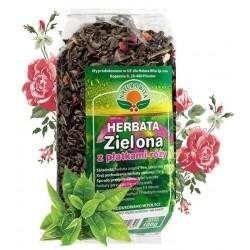 Herbata ZIELONA z Płatkami...