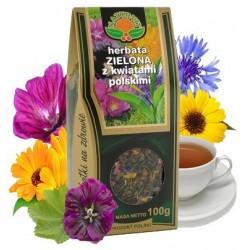 Herbata ZIELONA z KWIATAMI...