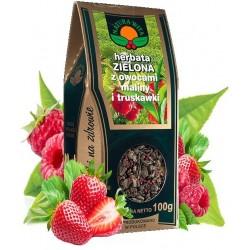 Herbata Zielona MALINA...