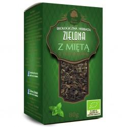 HERBATA ZIELONA LIŚCIASTA z...
