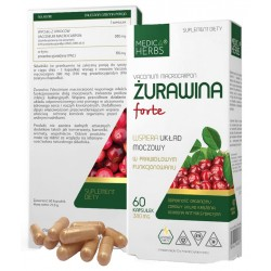 Medica Herbs ŻURAWINA FORTE...