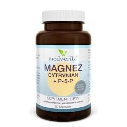 MAGNEZ Cytrynian Magnezu +...