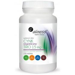 Cynk Organiczny Trio 15 mg...