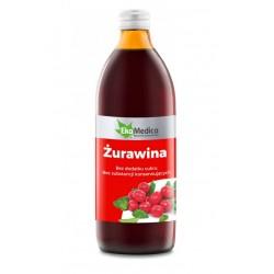 SOK z ŻURAWINY 1l NATURALNY...